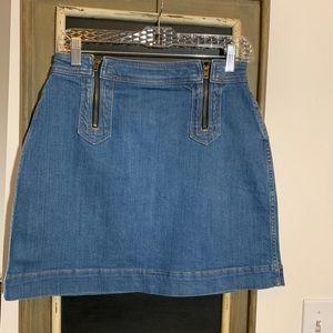 Anthropologie Pilcro & The Letterpress Mini Skirt